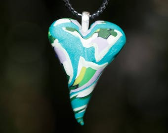Unique Heart Pendant