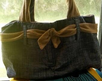 Dress pant purse