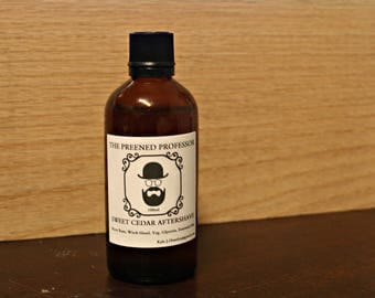 Sweet Cedar Aftershave by The Preened Professor