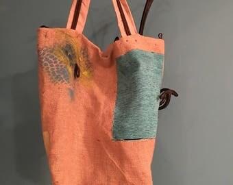"""""""Flora"""" tote bag"""