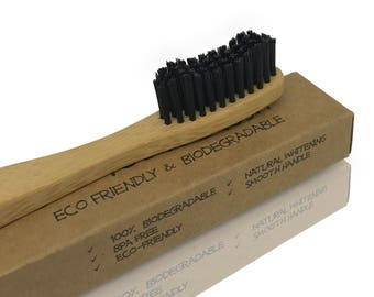 Green Monkey Eco Friendly Bamboo Toothbrush *100% Biodegradable