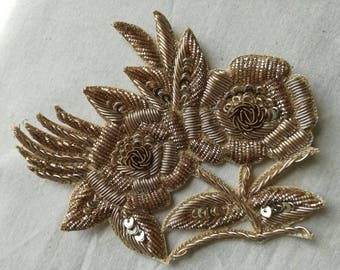 embroidered flowers #embroidered flower