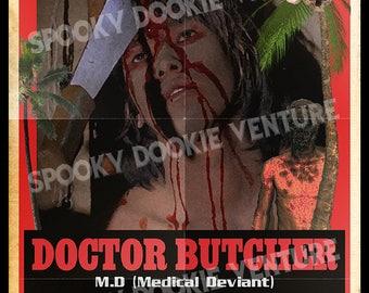 Dr. Butcher M.D. 11x17 Print