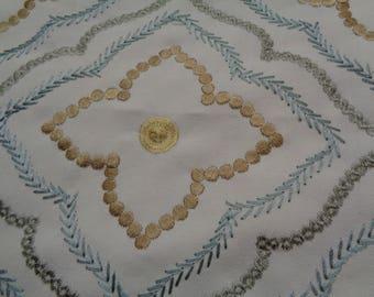 3.5 yards Beautiful Geometric Fabric                      #45