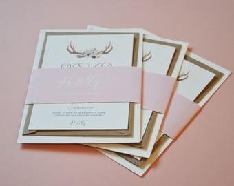 Wedding Invitation Bundles - The Antler Range