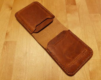 Men's horween Dublin tan wallet
