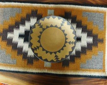 David Salk Clay Basket Southwest design