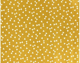 Fabric cloth Yozid Curry yellow bows