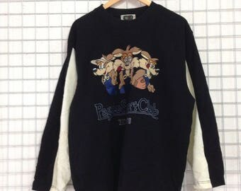 Vintage Pagelo Sweatshirts / Pagelo Sport Club Big Logo Embroidery Large size