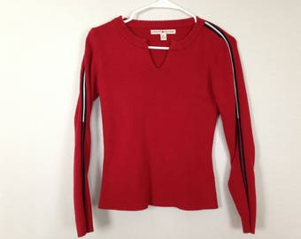 tommy hilfiger long sleeve shirt size S