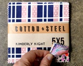 """Lucky Strikes Fabric 5""""x5"""" Squares Precut Quilting Cottons"""