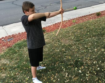 Bow and arrow (foam ball tip arrows- youth)