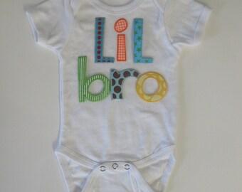 Lil Bro Baby Onesie