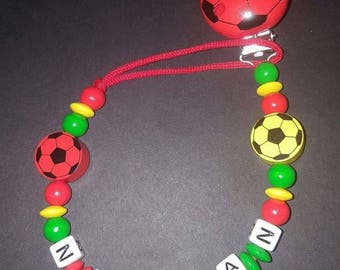 """Personalized pacifier """"Portugal"""""""