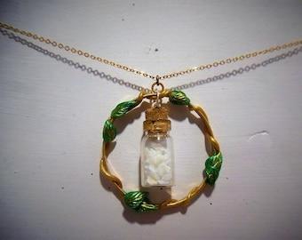 Necklace Elvish vial