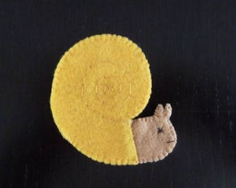 felt finger puppet animals romeo sea snail