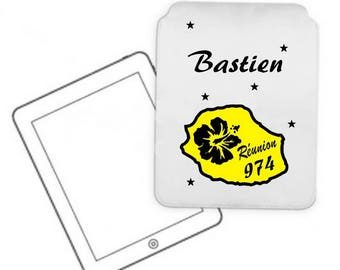 Cover for tablet pc meeting personalized with name