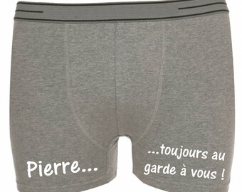 Gray shorts men always keep you personalized with name