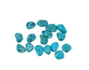 Perle Turquoise gemstone, handmade