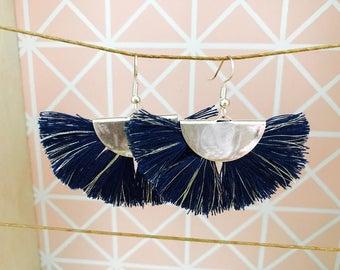 """Earrings Bohemian style pattern """"LUNA"""""""