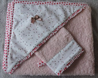 Bath and washcloth for baby