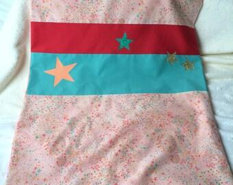 baby blanket personalized liberty adelajda coral minkee and Sun