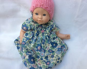 Doll clothes dress in Liberty Betsy Lavender