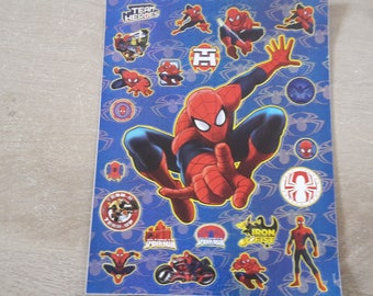 Stickers stickers Spiderman