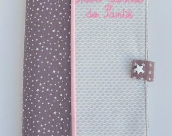 Health booklet protection cover fig star chic