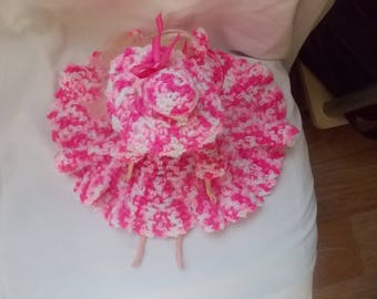 barbie dress and hat