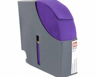 belt 38 mm x 50 cm lilac color elastic