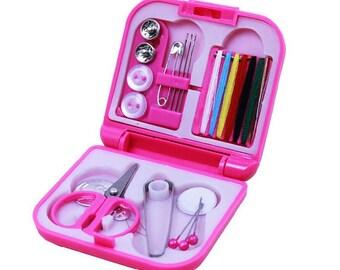 MINI KIT ROSE / Pocket sewing box