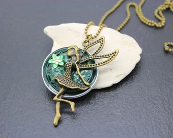Necklace on Nespresso Capsules * fairy *.