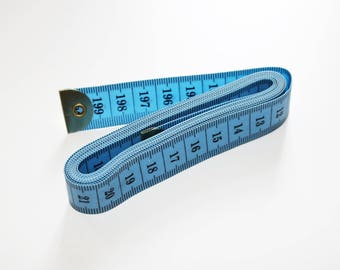 Tape 200 cm meter couture 2 m, blue