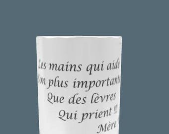 beautiful mug with a beautiful quote