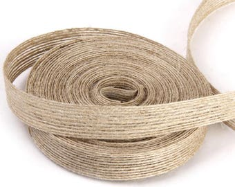 the natural jute 1 meter Ribbon cm