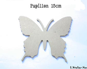 """Blank """"Butterfly"""" GOMILLE 15cm wooden stand"""