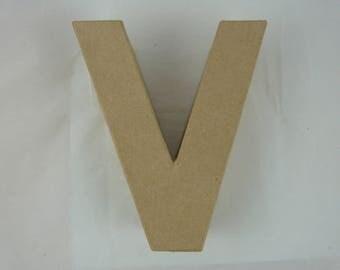 """Letter 3D decoration for home decor """"V"""""""