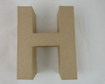 "Letter 3D decoration for home decor ""H"""