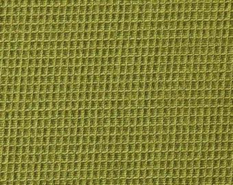 Coupon tissu habillement viscose vert 1m35 x 1m35