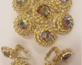 Vintage 3 Piece Jewelry Set