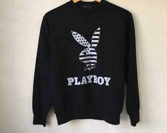Vintage PLAYBOY Big Logo Sweatshirt Established 1953