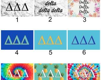 Delta Delta Delta Sorority 3' x 5' Flag