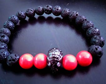 """Spiderman"" men bracelet"