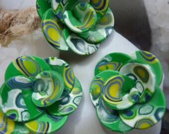 "FLOWERS ""BRAZILIAN""! POLYMER CLAY CREATION"