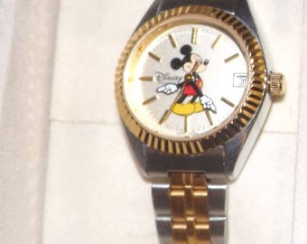 Disney Mickey Mouse Watch, Free Shipping