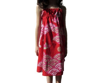 """Summer dress that turns """"as in Asia"""""""
