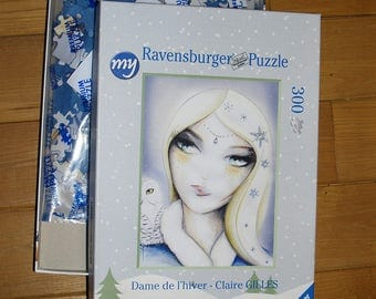 Lady of winter puzzle