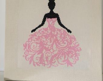 Princess in cross stitch