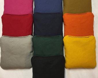 Resin Filled Cornhole Bags -Set of 8